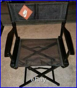 Vintage Nike Directors Chair Store Display 1990s 90s Advertising Rare Original