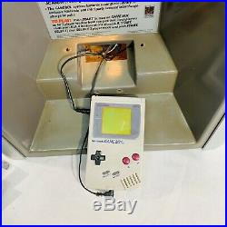 Vintage Nintendo Game Boy Kiosk Store Display 100% Functional RARE