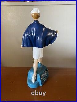 Vintage Nurse statue Figure Large Store Display Rare