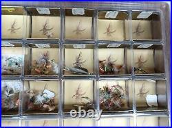 Vintage Original Hank Roberts Fishing Flies Plastic Store Display Rare