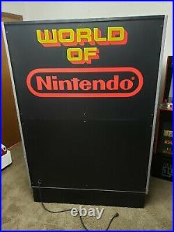 Vintage World Of Nintendo Store Display Rare Incomplete