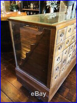Vtg Antique Rare Candy/Seed Store CounterMercantile Store Display