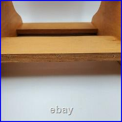 Vtg Rare Red Wing Shoes Boots Wooden Stool 3 Step Store Display Made In USA