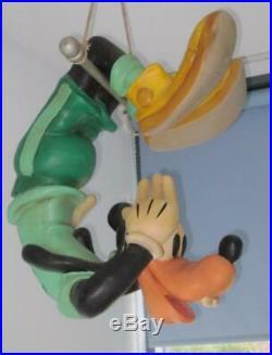 Walt Disney Goofy Acrobat Trapeze Big Fig Figurine Statue Store Display Rare