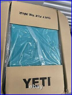 YETI Tundra 65 Cooler Aquifer Blue Used Store Display RARE SOLD OUT HARD TO GET